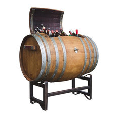 alpine wine design napa wine barrel ice chest with stand outdoor serving carts alpine wine design outdoor