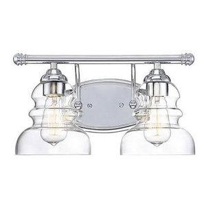Millennium Lighting, 7332-SN, Brighton 2-Light Bath Vanity Satin Nickel