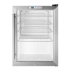 Compact Commercial Glass Door Beverage Cooler SCR312LBICSS