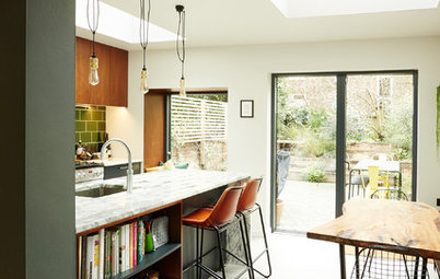 Kitchen Tour: A Wraparound Extension Creates a Sociable Space