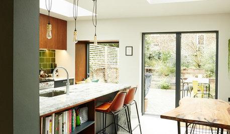 Kitchen Tour: A Wraparound Extension Creates a Sociable Space