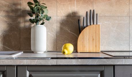Есть проблема: беспорядок на кухонной столешнице