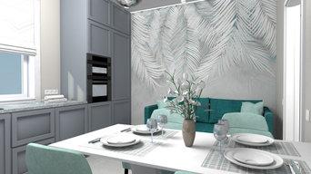 Дизайн-проект кухни, коридора, ванной комнаты и гостевого санузла