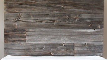 Barn Wood Headboard and Bed Frame