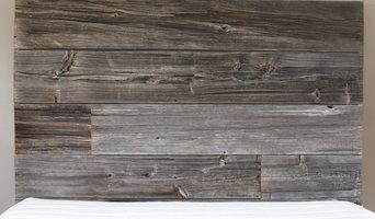Barn Wood Headboard and Bed Frame