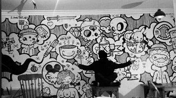 Wall Mural - Coffee Shop