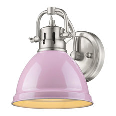 Golden Lighting 3602-BA1 PW-PK Duncan 1-Light Bath Vanity