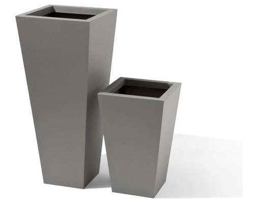 Tapered Planter - Outdoor Pots And Planters