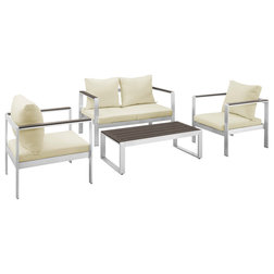 Contemporary Outdoor Lounge Sets by clickhere2shop