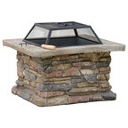 Kentwood Outdoor Fire Pit Southwestern Fire Pits By