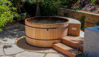 6' Teak Hot Tub in California