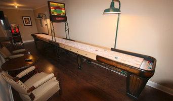 Rock Ola Shuffleboard Tables