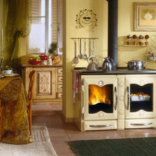 Wood Cook Stoves by La Nordica - Modern ItalianWood Burning Cook Stoves