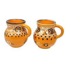 Encantada Handmade Mug, Beaker Mango