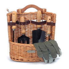 Arbor Willow Garden Basket and Tools