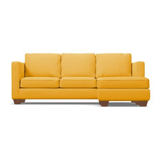 Catalina Reversible Chaise Sofa Marigold Velvet