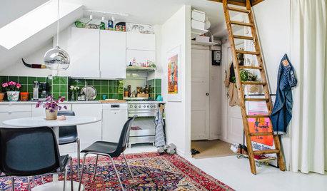7 små hem på under 50 kvadratmeter