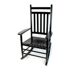 RTA Adult Rocking Chair Black