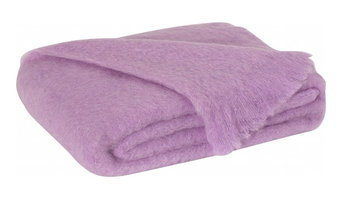 Lilac Brushed Mohair Throw