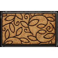 """Vine Leaves Doormat 18""""x30"""""""