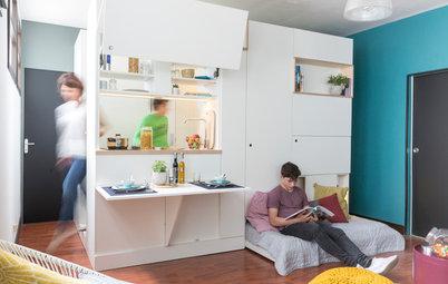 Architecture : 1 boîte, 6 fonctions dans un studio de 20 m²