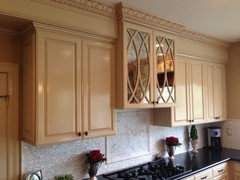 Terrific Mirrored Upper Kitchen Cabinet Doors Anyone Download Free Architecture Designs Embacsunscenecom