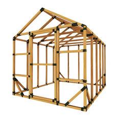 8x10 Standard Greenhouse Kit, No Floor