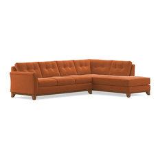 Marco 2-Piece Sectional Sleeper Sofa, Clementine, Chaise on Right