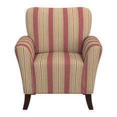 Handy Living   Sasha Chair, Cabana Crimson   Armchairs And Accent Chairs