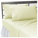 SCALA - 400TC 100% Egyptian Cotton Solid Ivory Twin XXL Size Sheet Set - Redefine your everyday elegance with these luxuriously super soft Sheet Set . This is 100% Egyptian Cotton Superior quality Sheet Set that are truly worthy of a classy and elegant look. Twin XXL Size Sheet Includes1 Fitted Sheet 39 Inch (length) X 84 Inch (width)1 Flat Sheet 70 Inch (length) X 102 Inch (width)2 Pillow Cases 20 Inch(length) X 30 Inch (width)