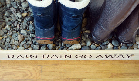 DIY: Corral Your Boots With This Handy Entryway Tray