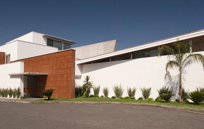 Casas Houzz: Una vivienda en Monterrey con vistas a la Sierra Madre