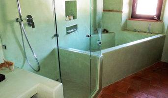 bagno in microcemento