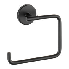 Delta Trinsic Towel Ring, Matte Black