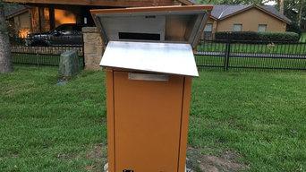 Mailbox Sentinel Parcel Safe Custom Powder Coat Finish
