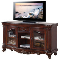 ACME Remington TV Stand, Brown Cherry