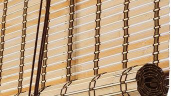 Brun Natur Bambus