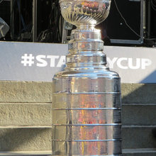 Decorating Around a Stanley Cup