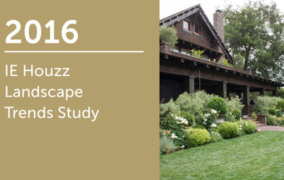 2016 IE Houzz Landscape Trends Study