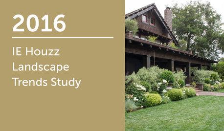 2016 IE Houzz Landscape Trends Study