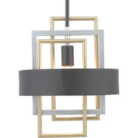 Progress Adagio Collection 1-Light Mini-Pendant P500173-031, Black