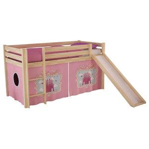 Pino Kids Room Set, Castle, Slide