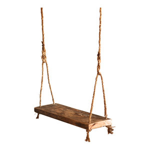 Children's Wood Tree Swing