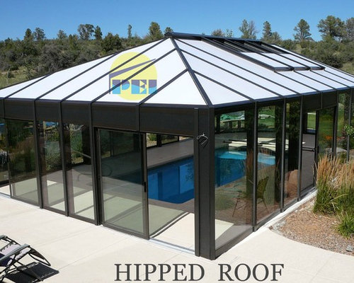 Arizona hipped roof Pool Enclosure - Products