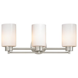 Contemporary Bathroom Vanity Lights shop houzz: bathroom vanity lighting under $150
