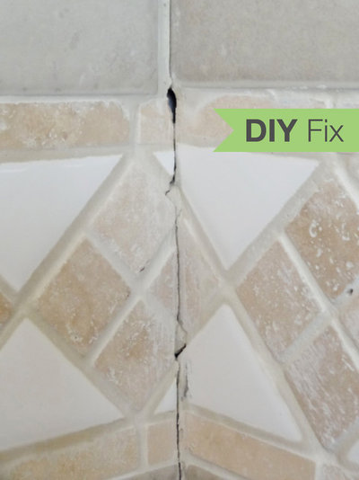 Quick Fix Repair Cracked Bathroom Grout - How to fix bathroom tile grout for bathroom decor ideas