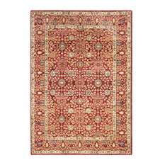 "Safavieh Valencia Val120R Rug, Red/Red, 8'0""x10'0"""