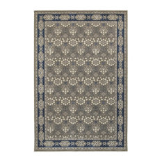 Oriental Weavers Richmond 119U3 Gray/Navy Oriental Area Rug, 12'x15'
