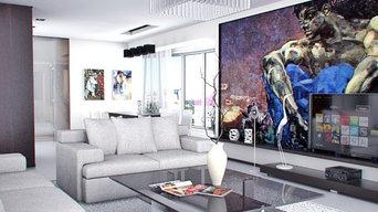 Проект квартиры в стиле минимализм