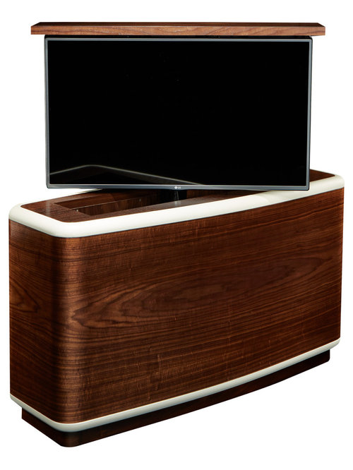 tv lift cabinet modern designs us made available in 4 woods tv lift cabinet furniture